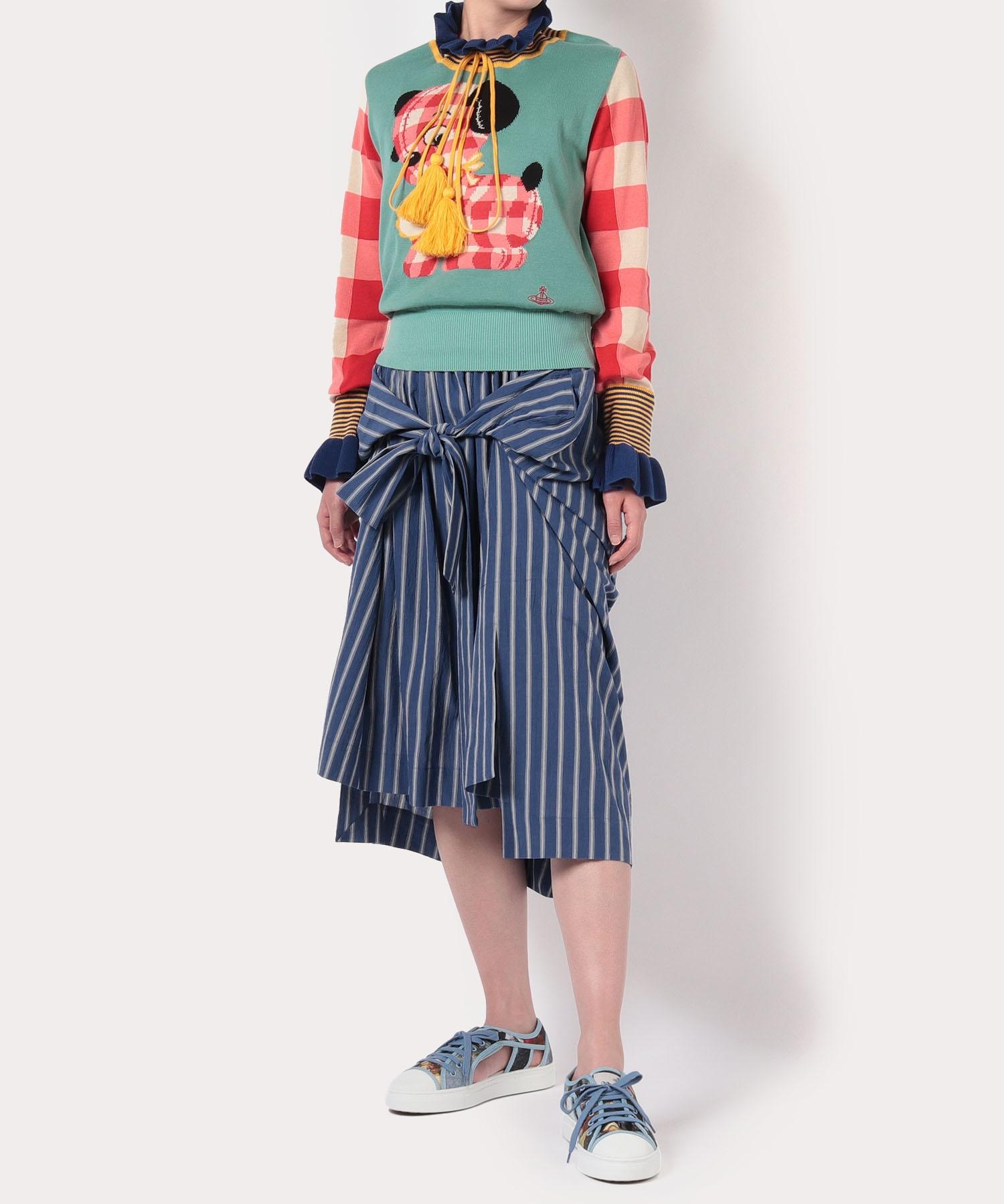 ダブルワッシャー スカート