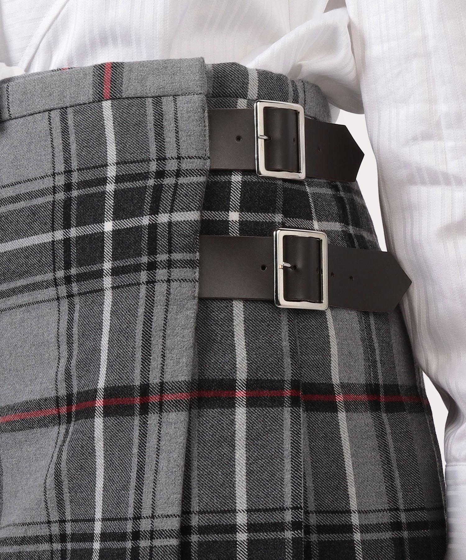タータンチェック キルトスカート