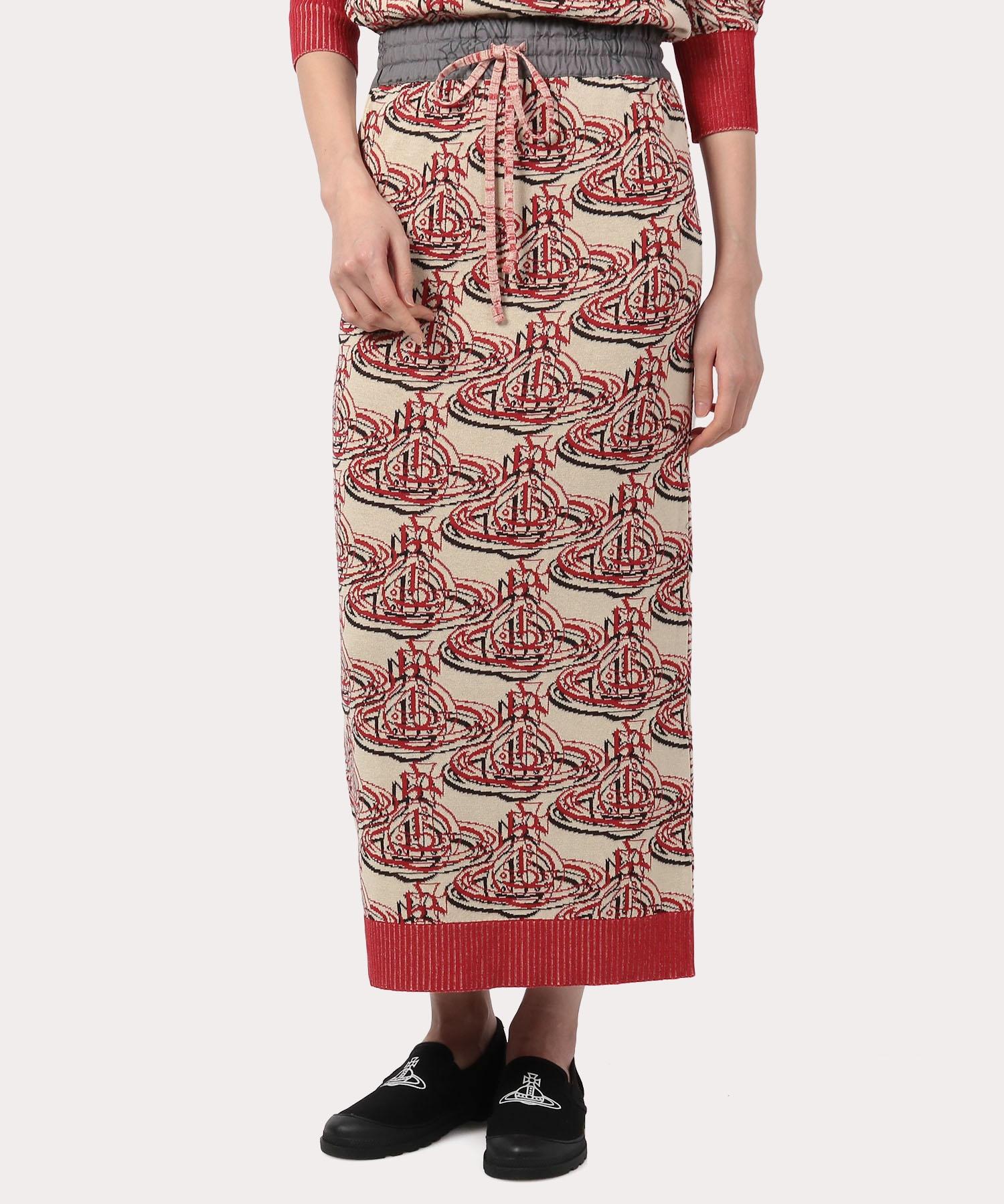 カプセルコレクション ORBリピート ロングスカート