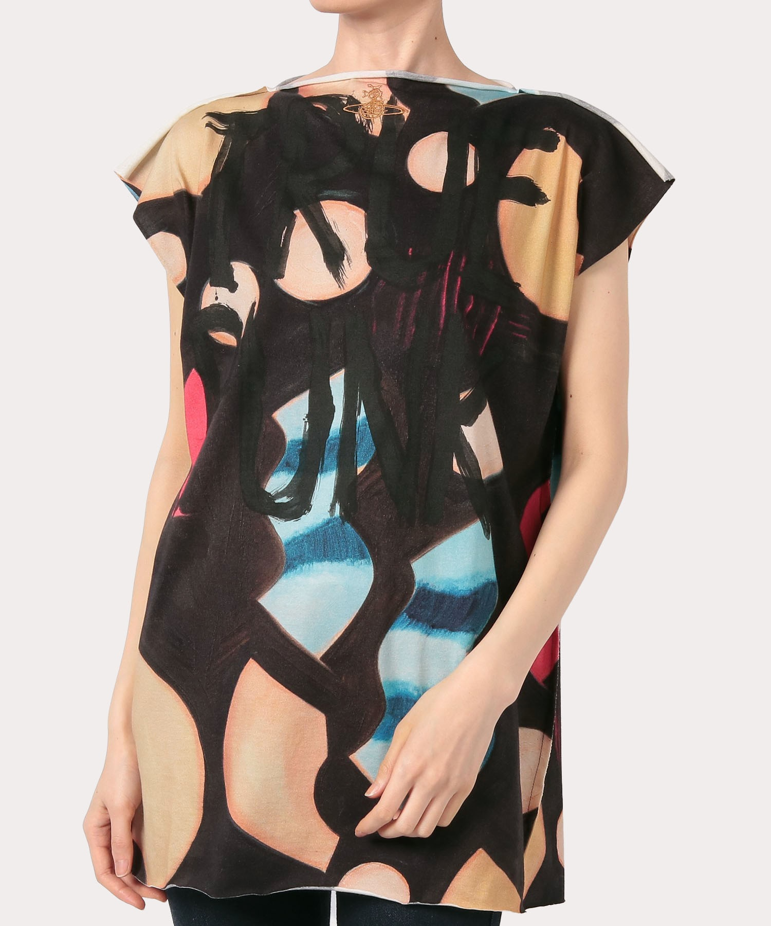CHRISSIE HYNDE PRINT LINA SQUARE Tシャツ