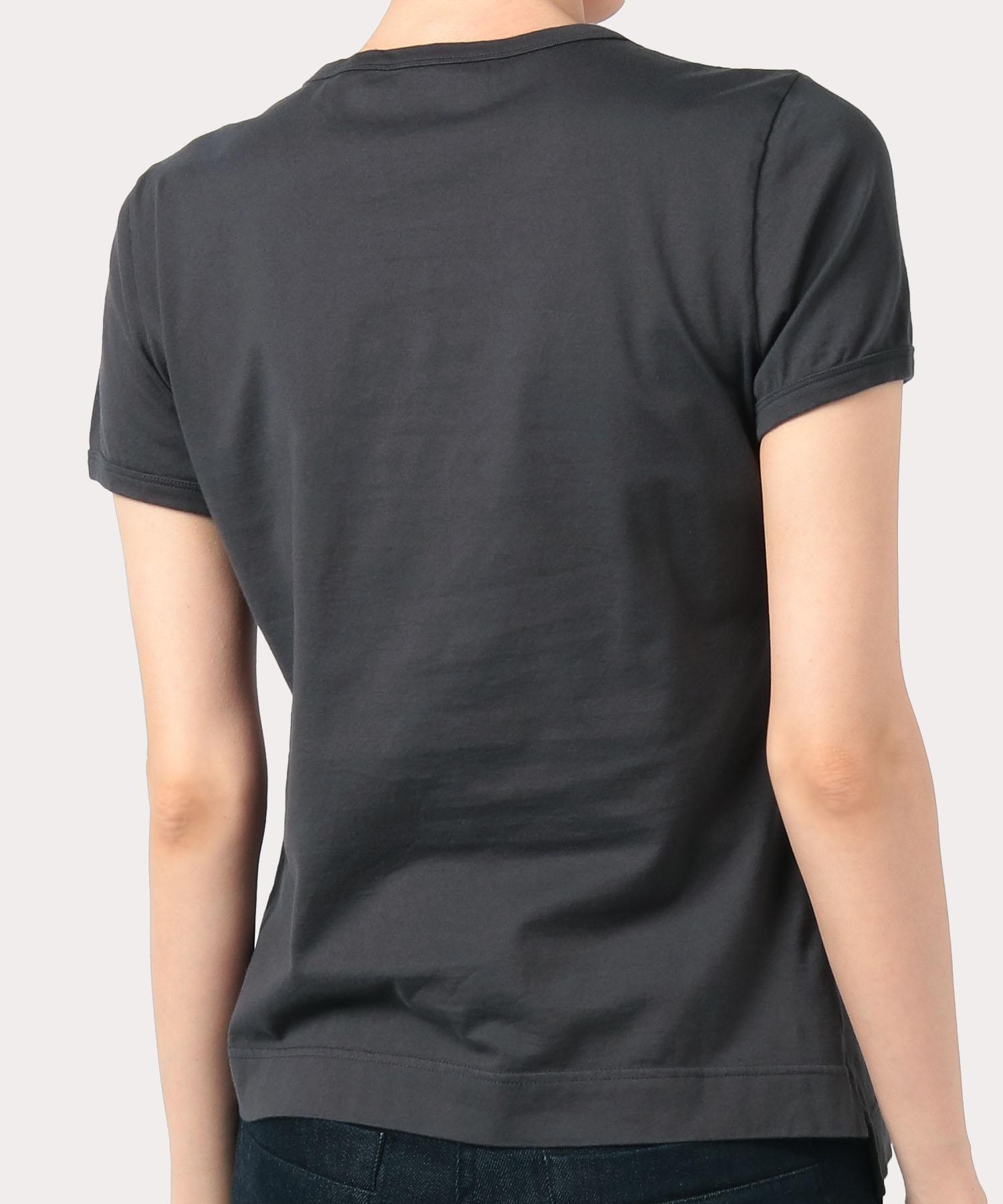 オンラインショップ限定カラー クォーターORBアップリケ刺繍 クラシックTシャツ