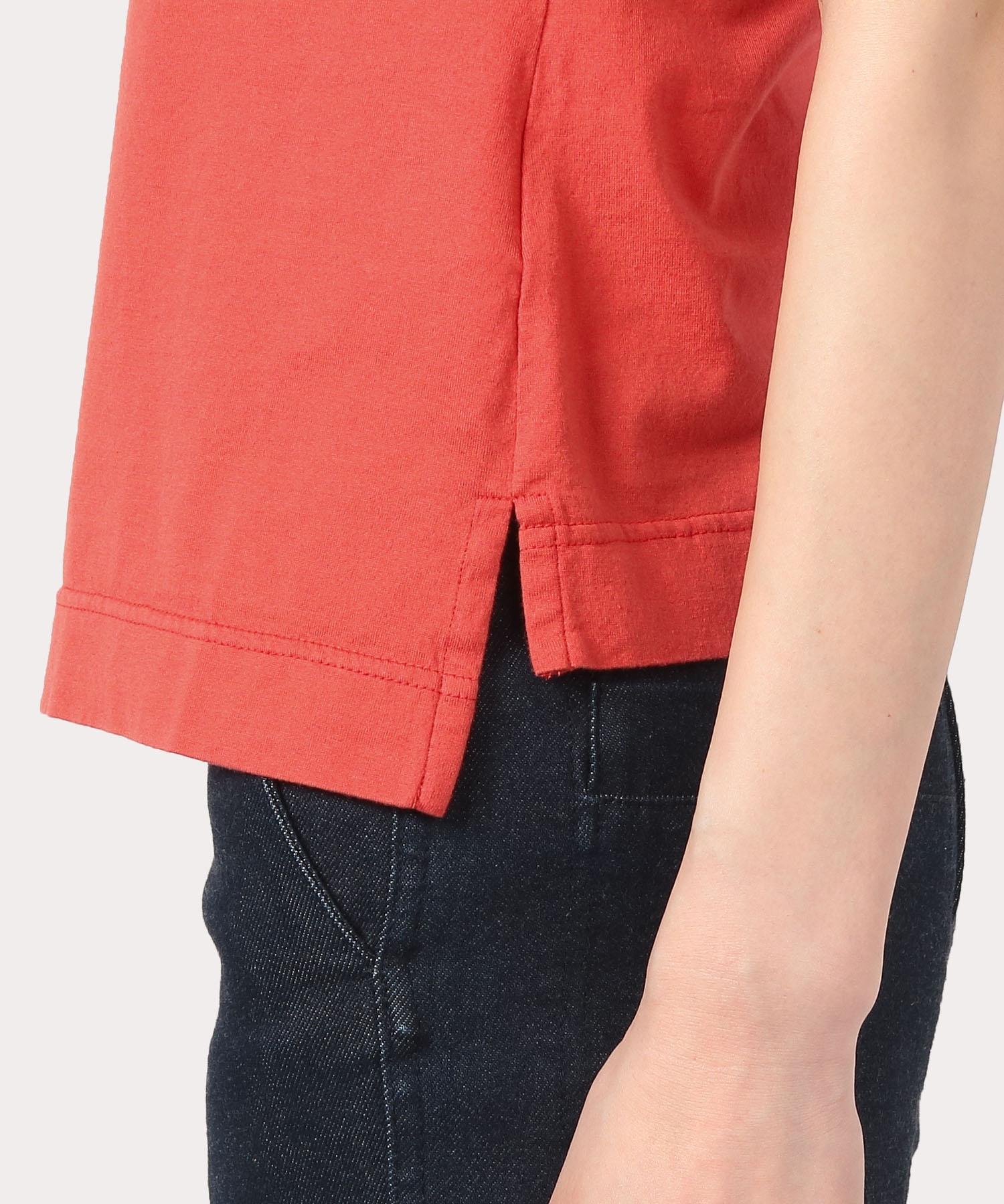クォーターORBアップリケ刺繍 クラシックTシャツ