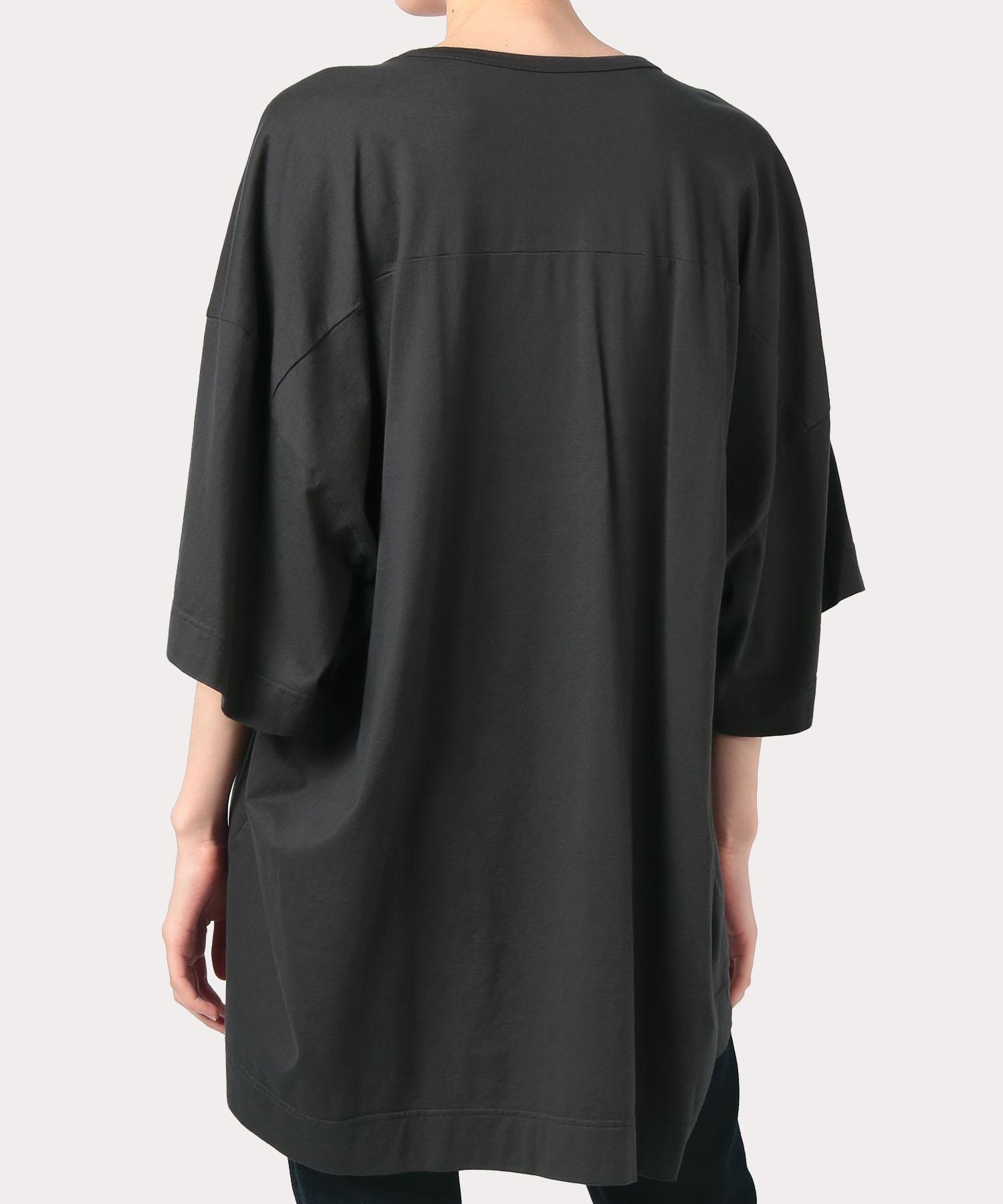 オンラインショップ限定カラー クォーターORBアップリケ刺繍 ビッグTシャツ
