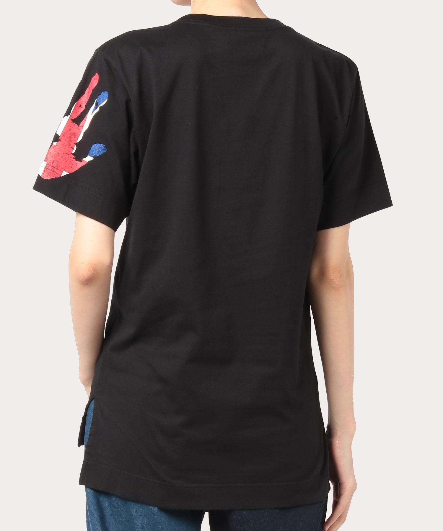 デュアブル パッチ&ユニオンジャック Tシャツ