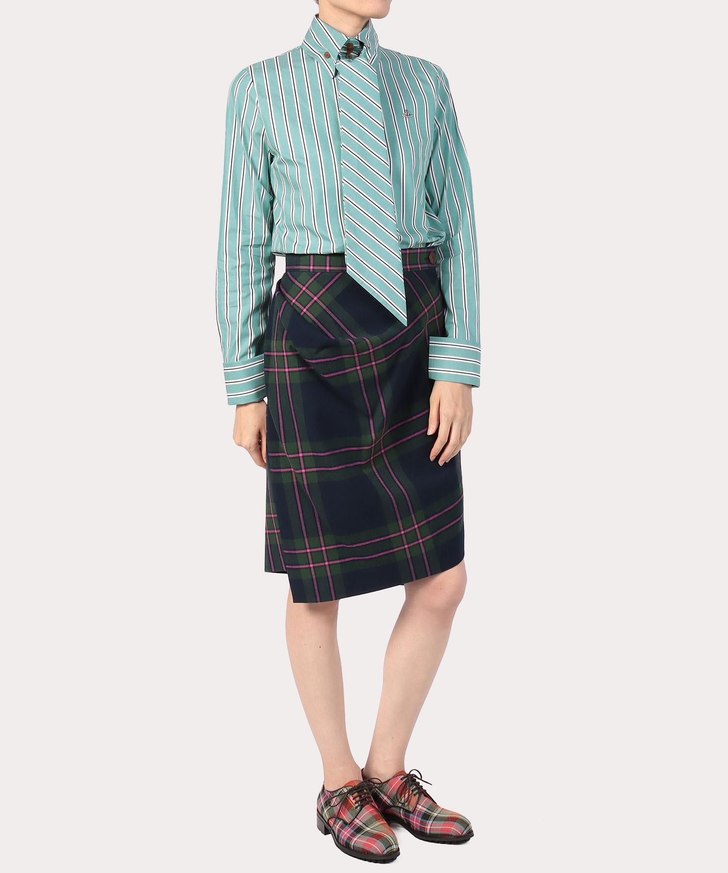 タータンチェック アクシデントスカート