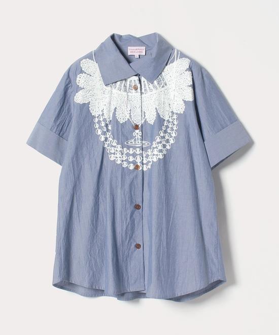 テューダーネックレス シャツ