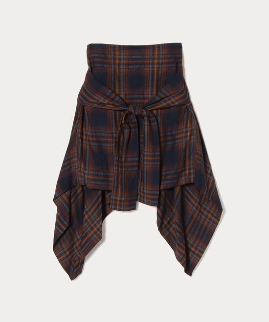 チェック ホープスカート