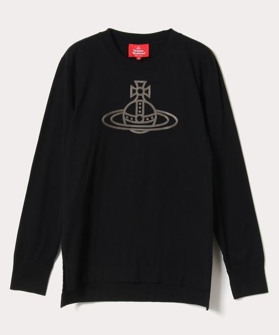 ORB刺繍 長袖ボーイズTシャツ