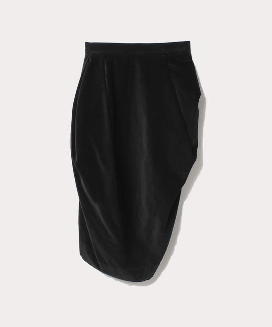 貫八別珍 スカート