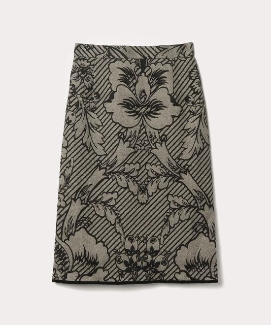 ブロケードジャカード スカート