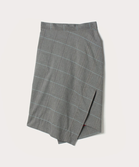 POWチェック スカート