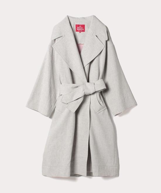 平二重織り オーバーサイズコート