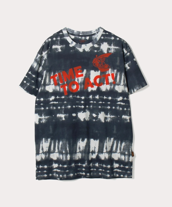 TIME TO ACT BOXY Tシャツ
