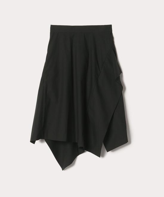 タイプライタークロス Aラインスカート