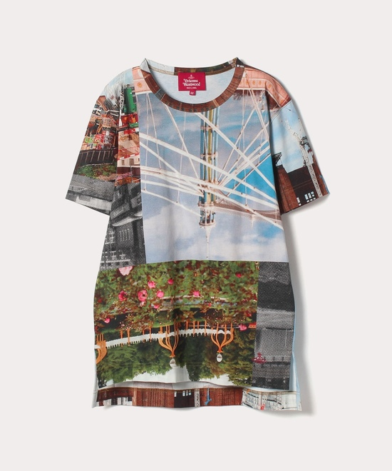 バタシープリント ボーイズTシャツ