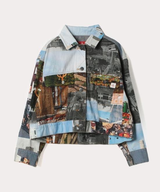 バタシープリント ジャケット