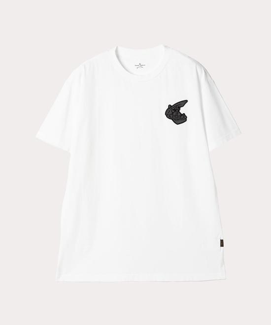 ARM&CUTLASS BADGE BOXY Tシャツ