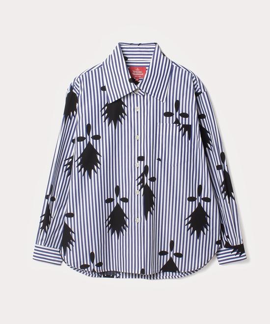 アーミン×ストライプ シャツ