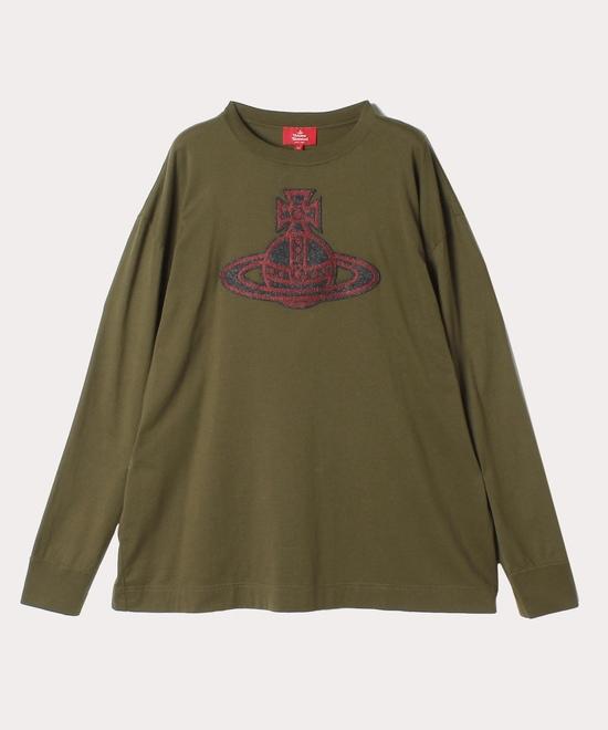 フェルトORBパッチ オーバーサイズTシャツ