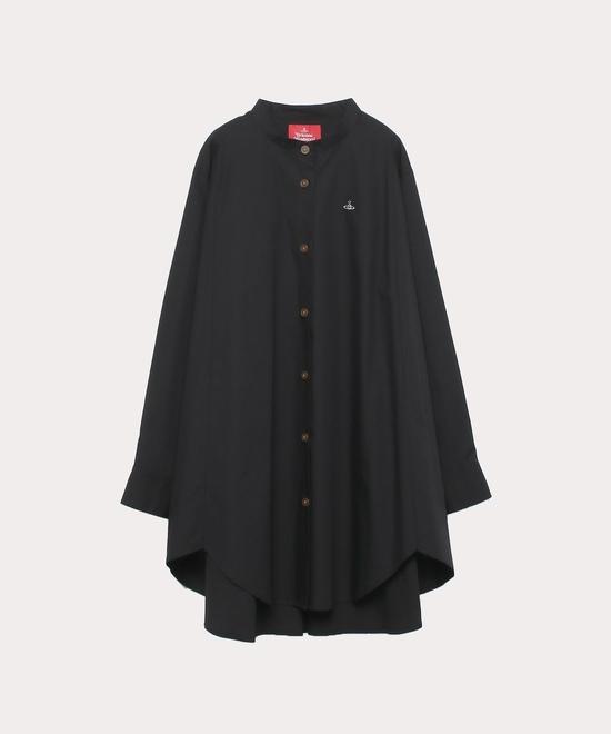 綿ブロード サークルシャツ