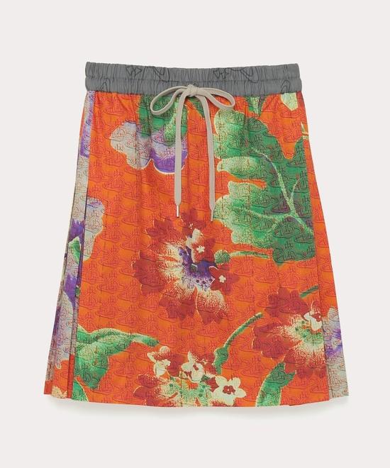 ロシアン テキスタイル フローラル スカート