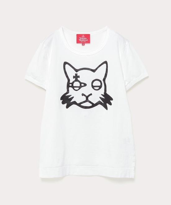 キャットプリント クラシックTシャツ