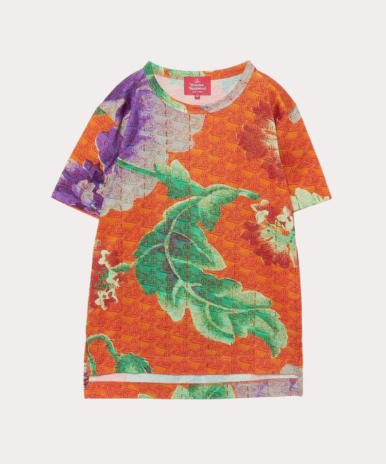 ロシアン テキスタイル フローラル ボーイズTシャツ