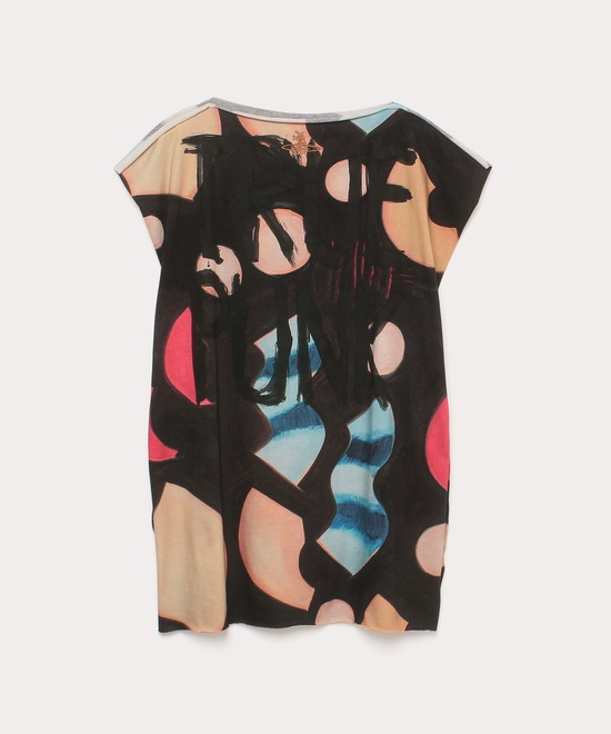 CHRISSIE HYNDE PRINT LINA SQUARE Tシャツ