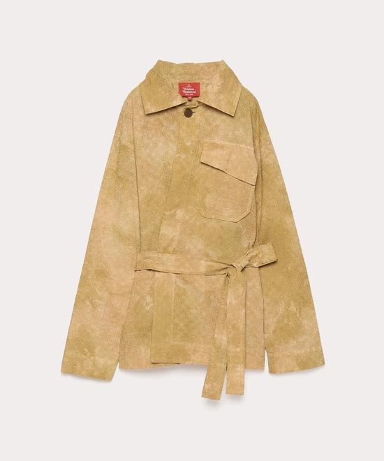 カットワーク刺繍 ビルダーシャツジャケット
