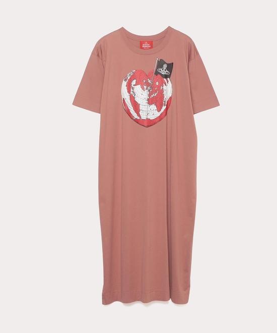 オンラインショップ限定カラー パイレーツハート Tシャツワンピース