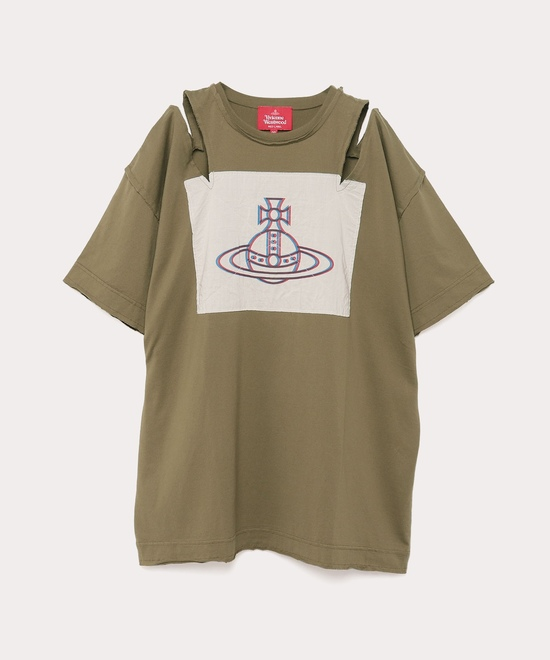 オンラインショップ限定カラー ラブハートORB オープンショルダーTシャツ