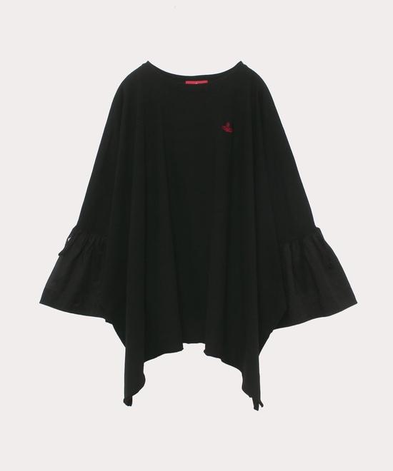 ブロッキング スクエアTシャツ