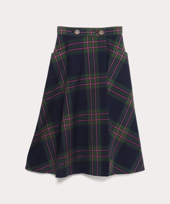 タータンチェック ライディングスカート