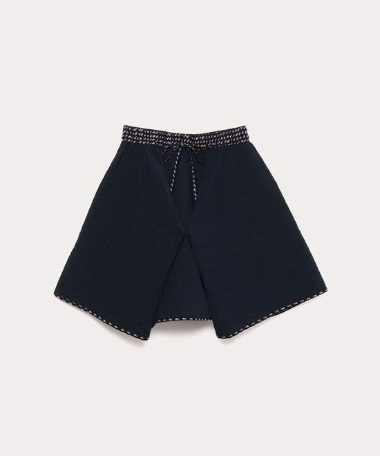 コットンネルキルティング スカート