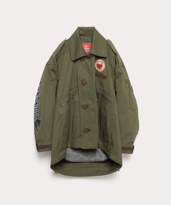 高密度ツイル フライトジャケット
