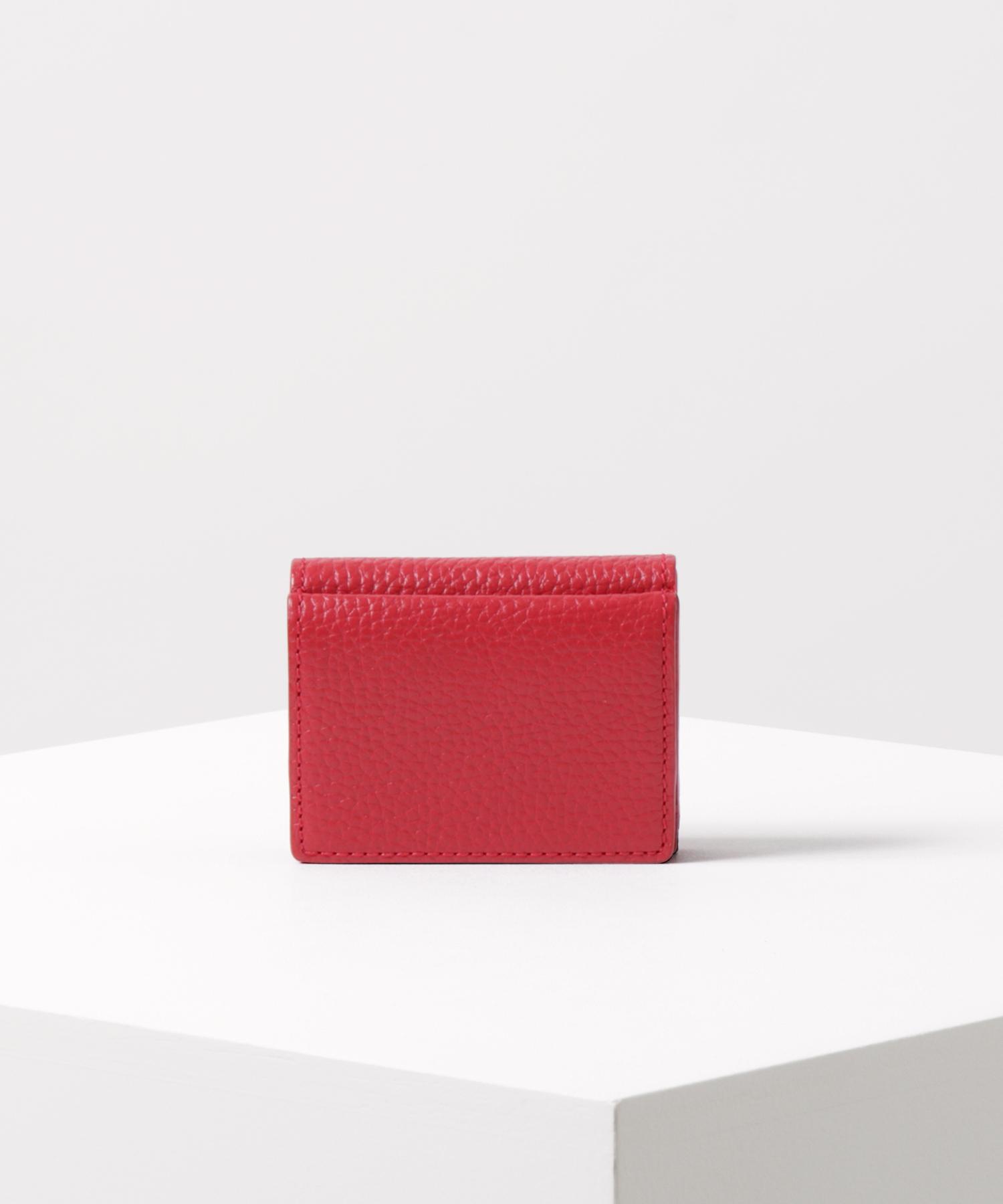 ミニマリズム 三つ折り財布