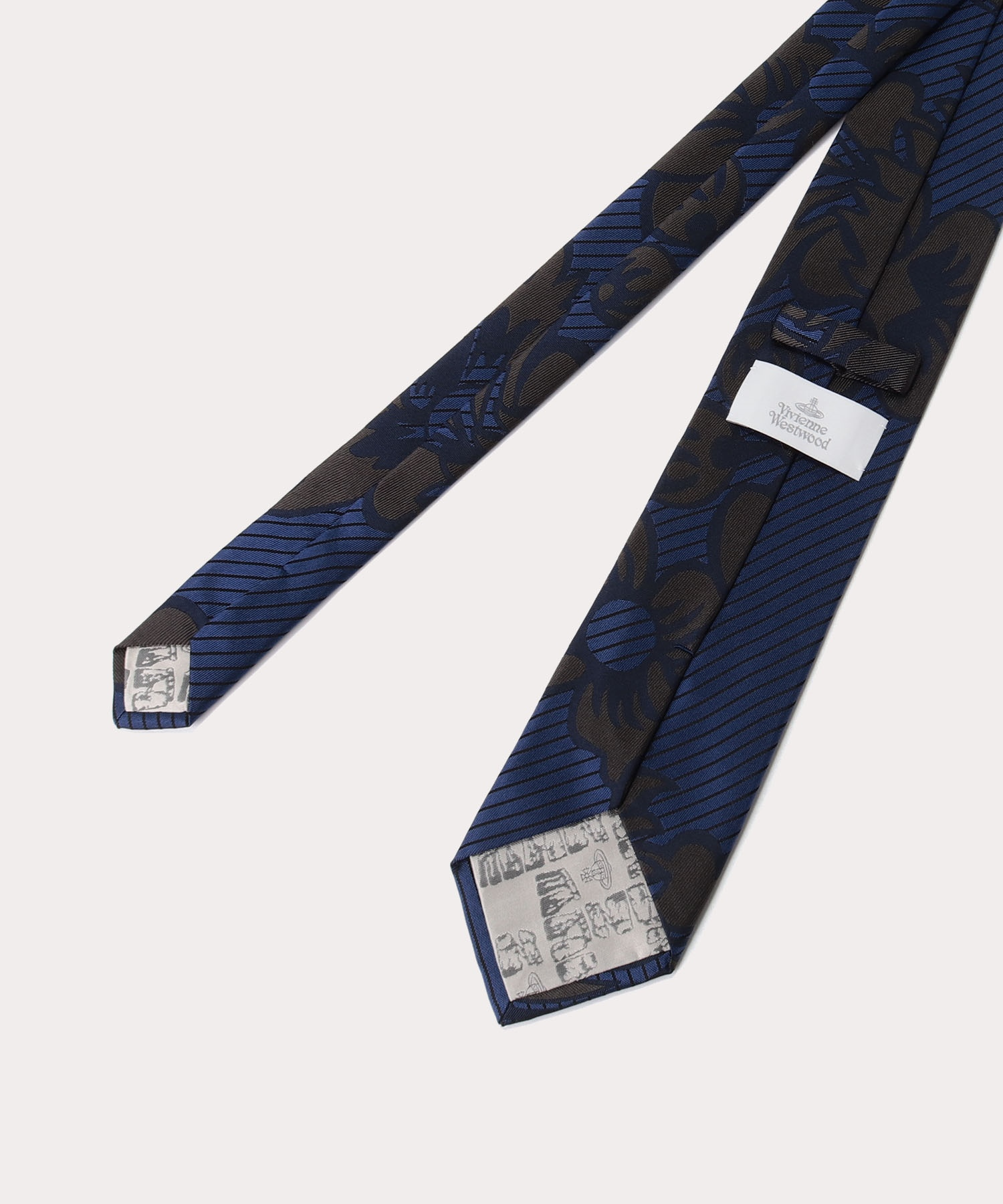 ブロケードフラワー ネクタイ