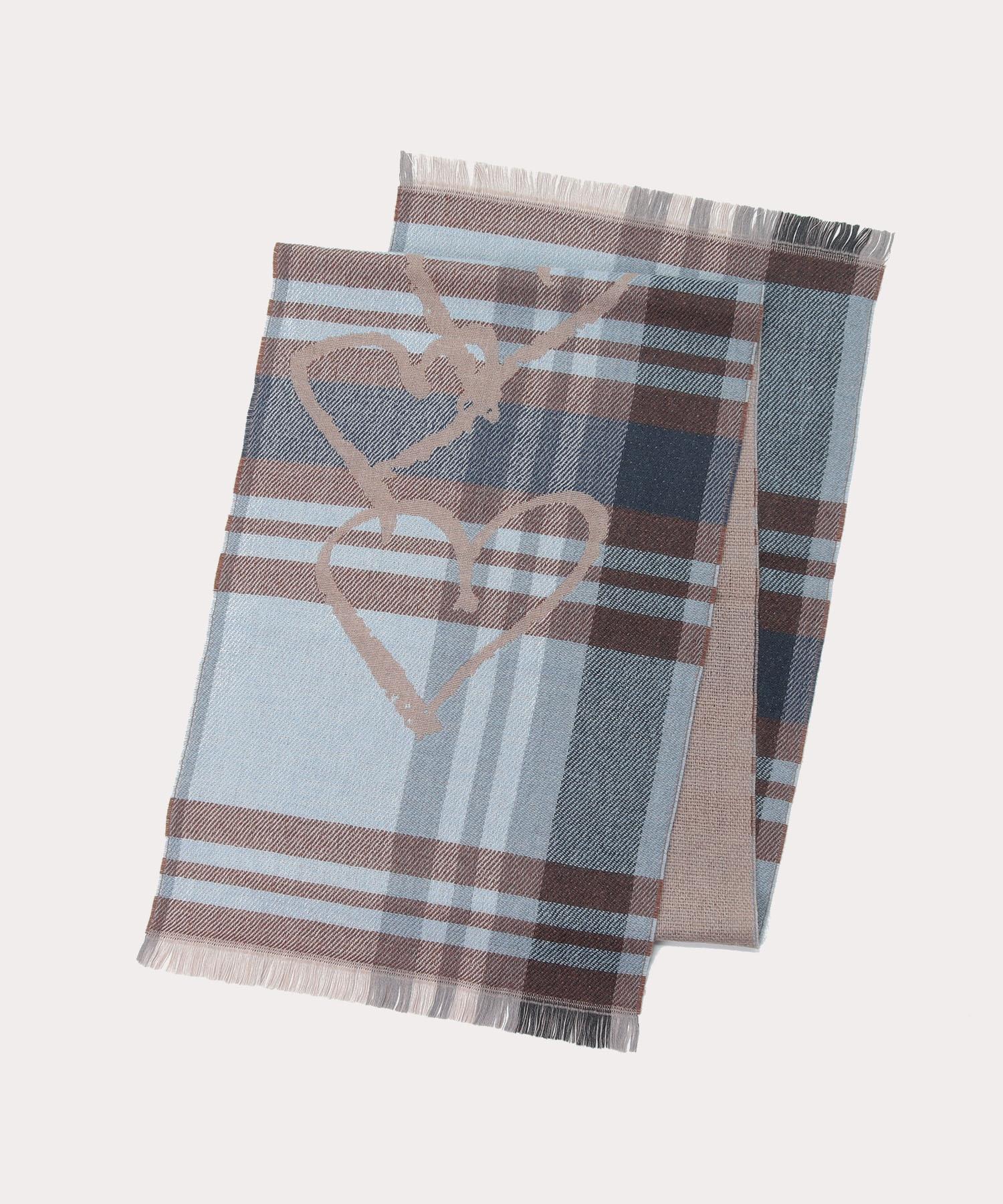 オンラインショップ限定 タータンハート メンズマフラー