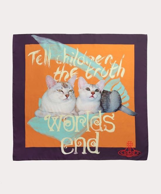 TELL THE TRUTH メンズスカーフ