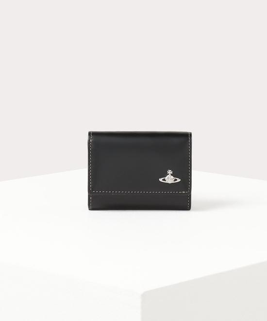 トリニティカラー 三つ折り財布