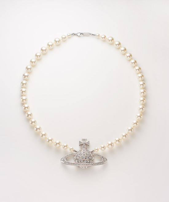 MAN BAS RELIEF PEARL ネックレス