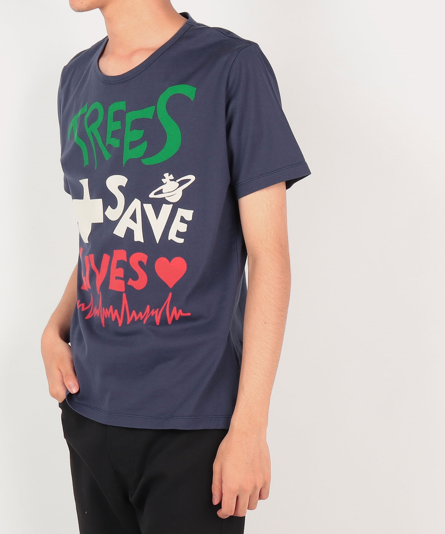 TREES SAVE LIVES 半袖Tシャツ