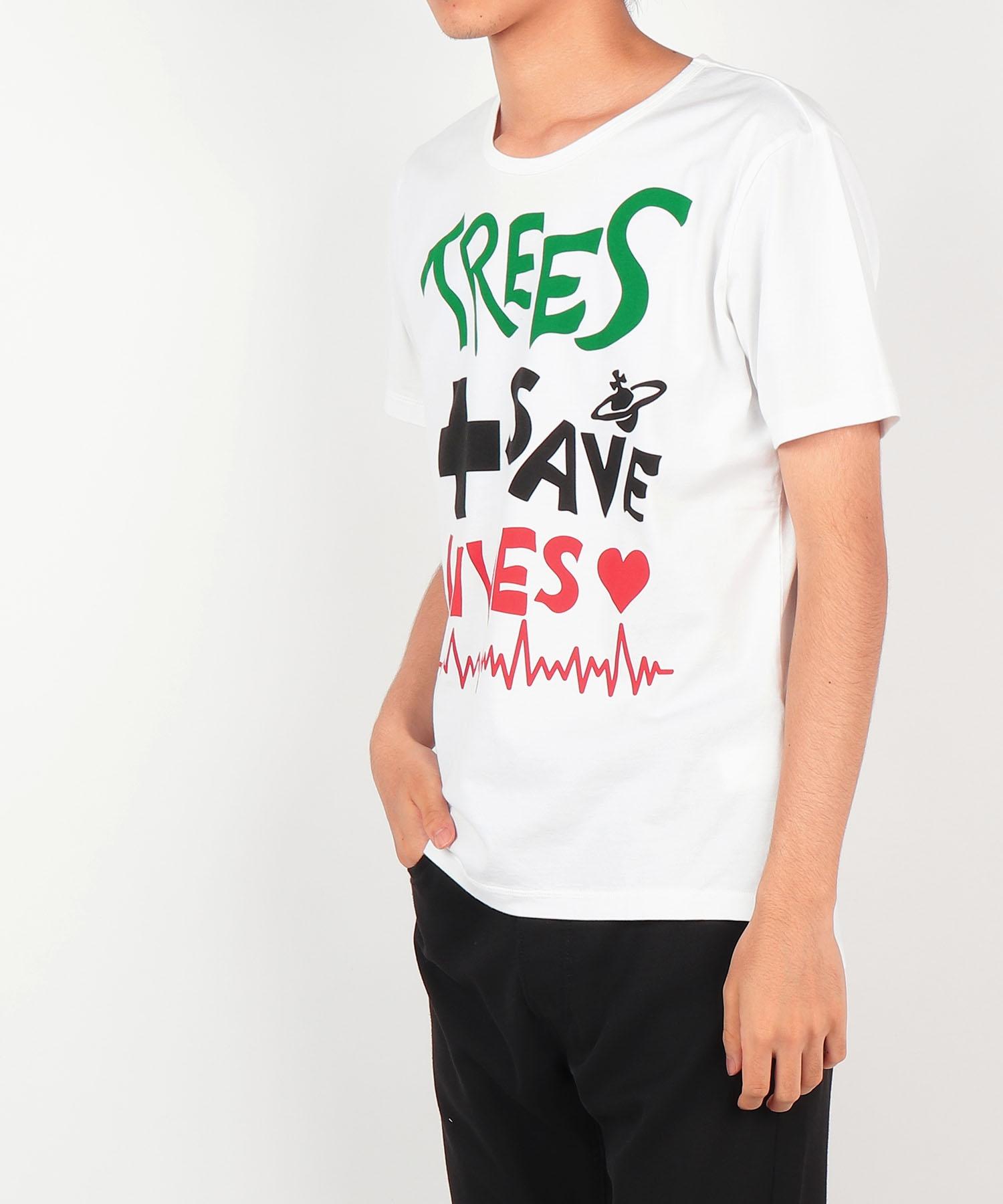 TREES SAVE LIVES 半袖Tシャツ