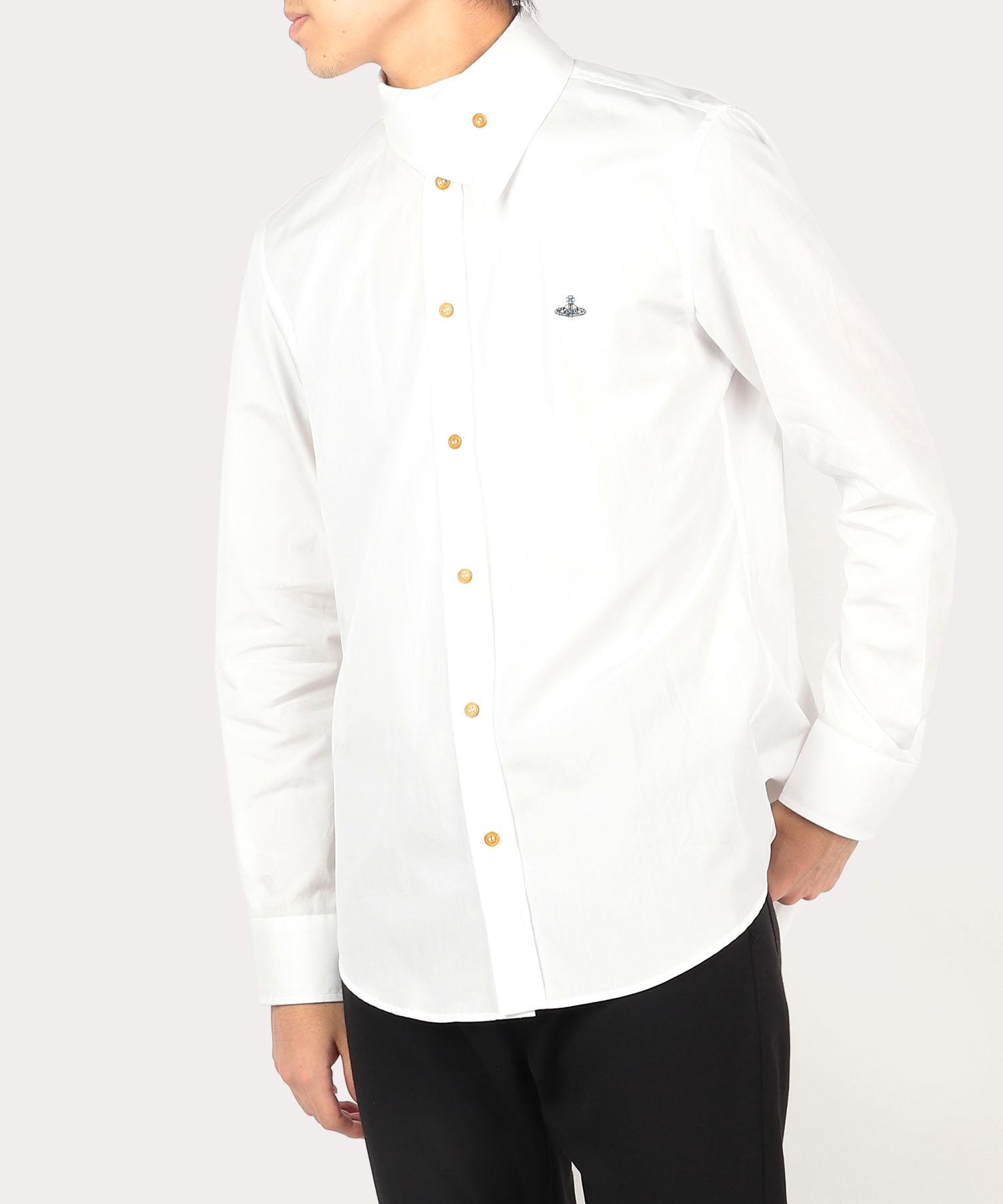 ラップカラー シャツ