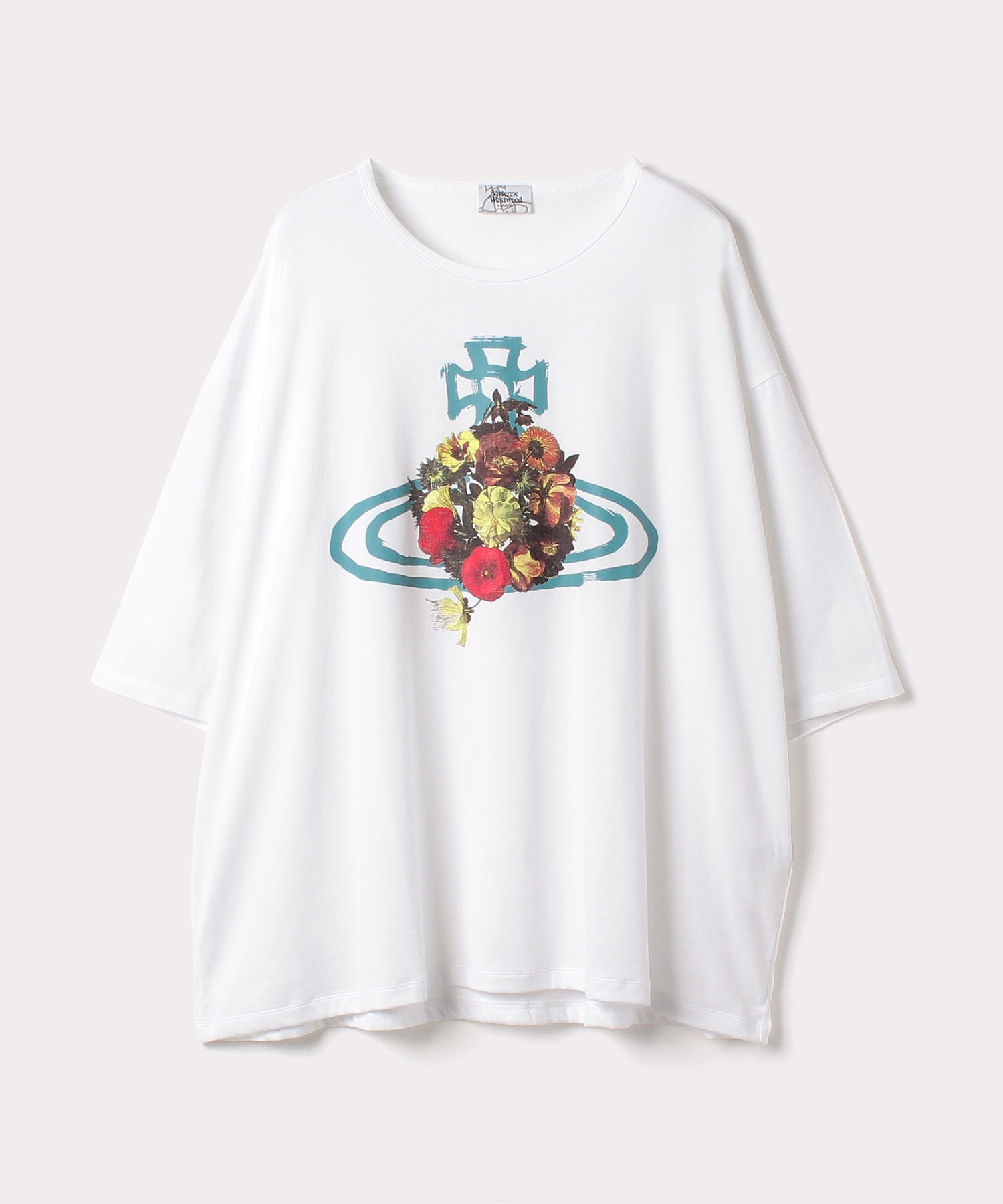 フローラルORB ビッグTシャツ