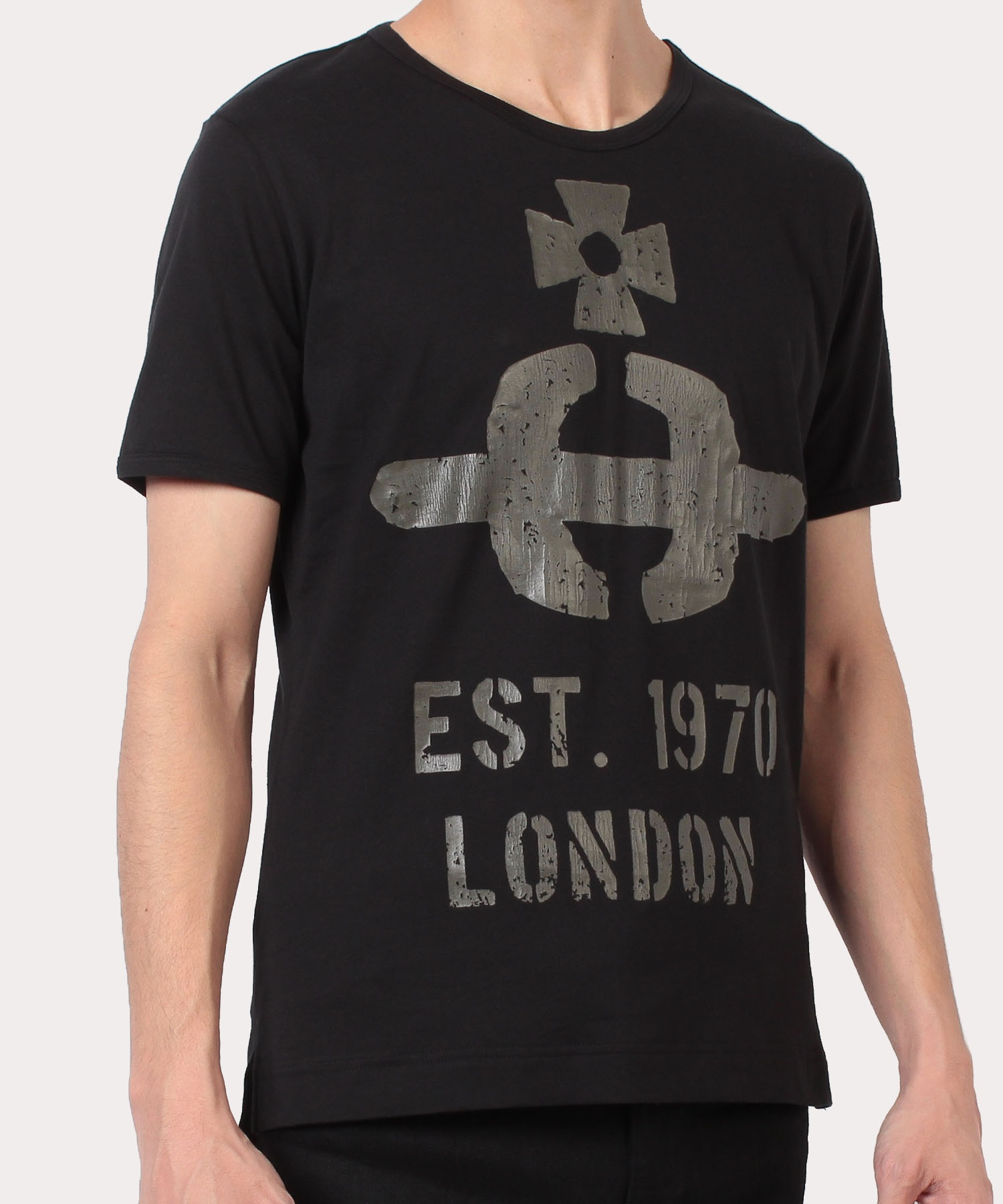 ステンシルORB クラシック半袖Tシャツ