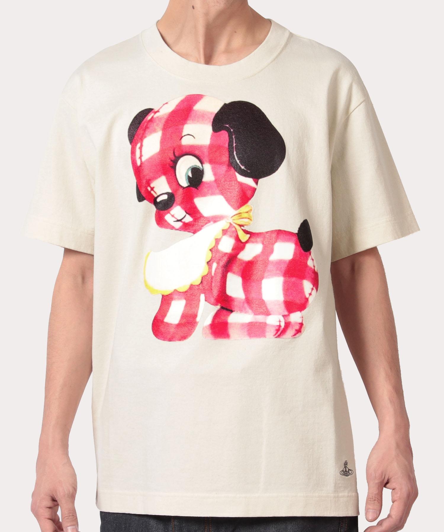 ギンガムパピー リラックス半袖Tシャツ