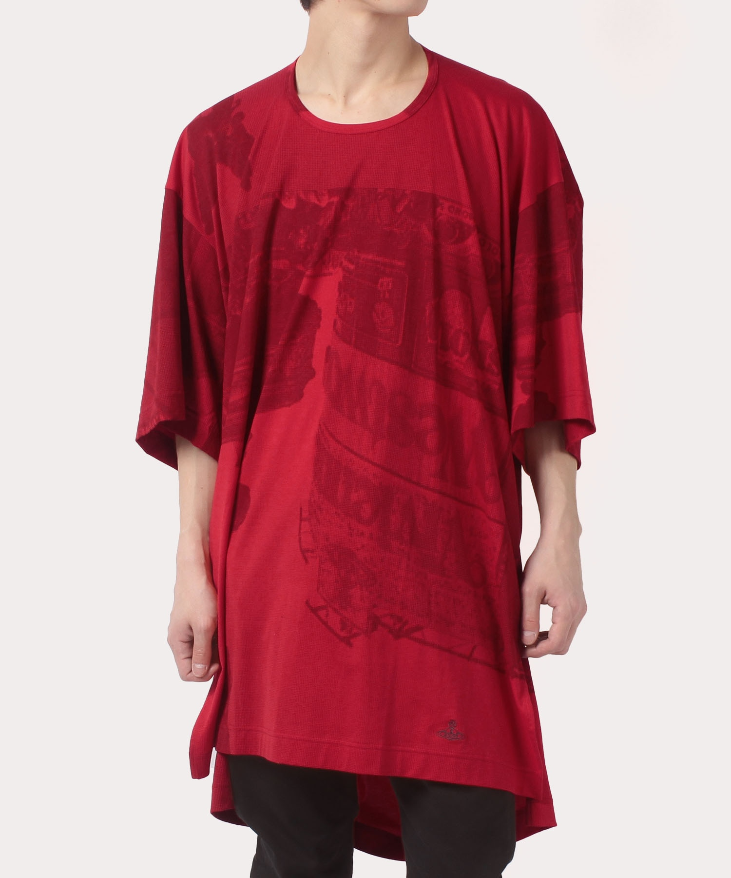 ピカデリープリント NEWビッグロング 半袖Tシャツ