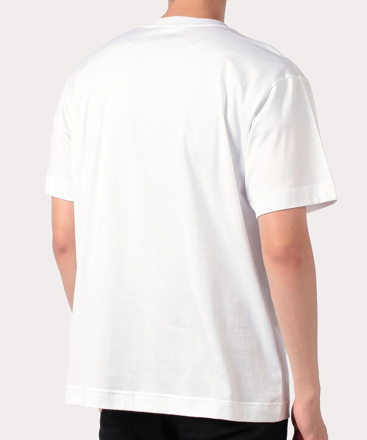 タイムマシーンORB プリント 半袖Tシャツ