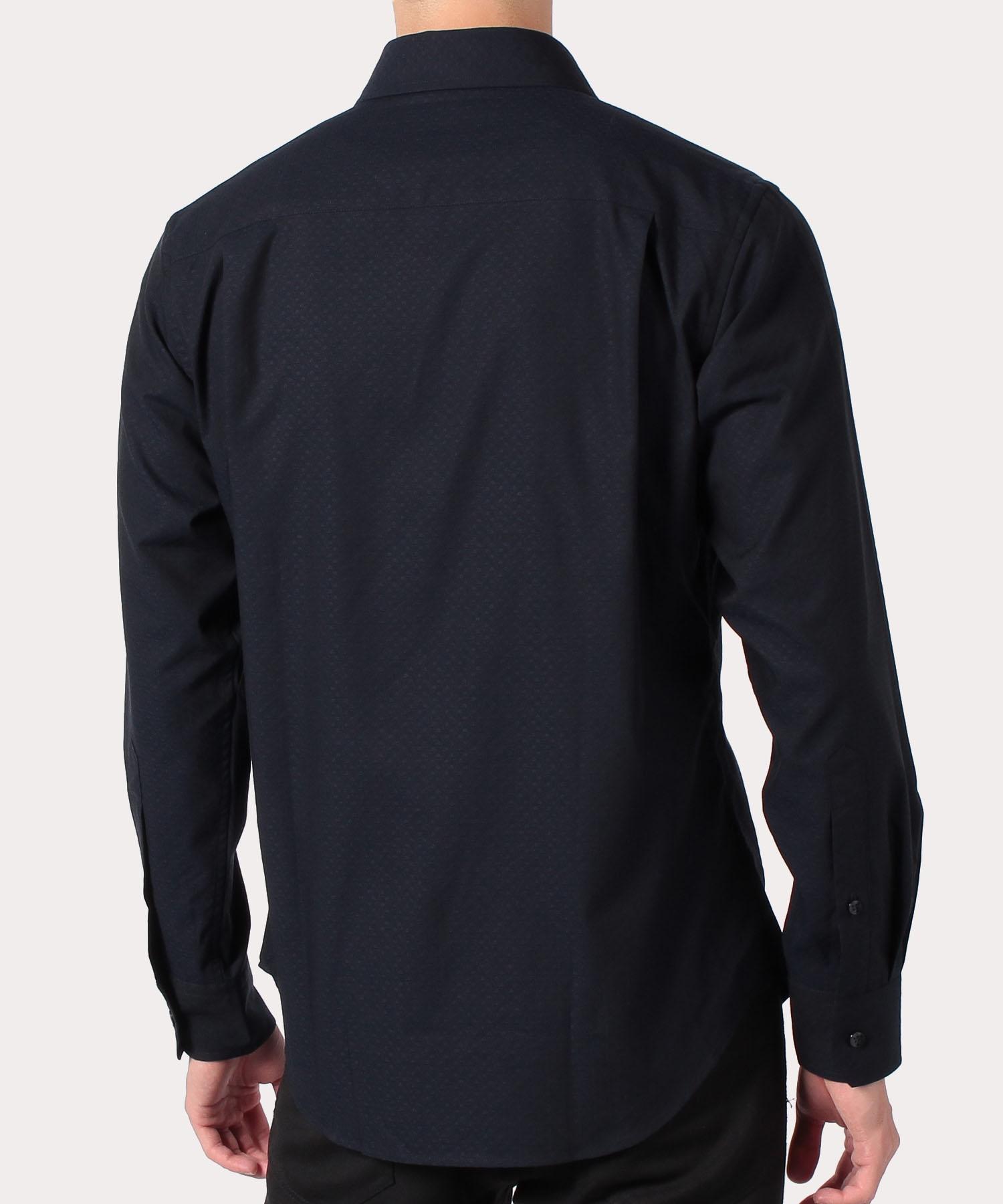 ワンポイントORB ドビー クラシックシャツ
